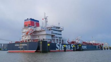 Photo of Stena Bulk MR tanker takes on biofuel
