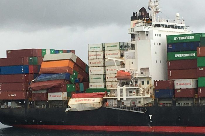 Australia expands search for containers lost from YM Efficiency