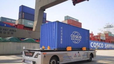 Photo of Cosco gives a glimpse of China's future smart ports