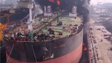 Photo of Deaths reported from Monday's Indonesian tanker blaze