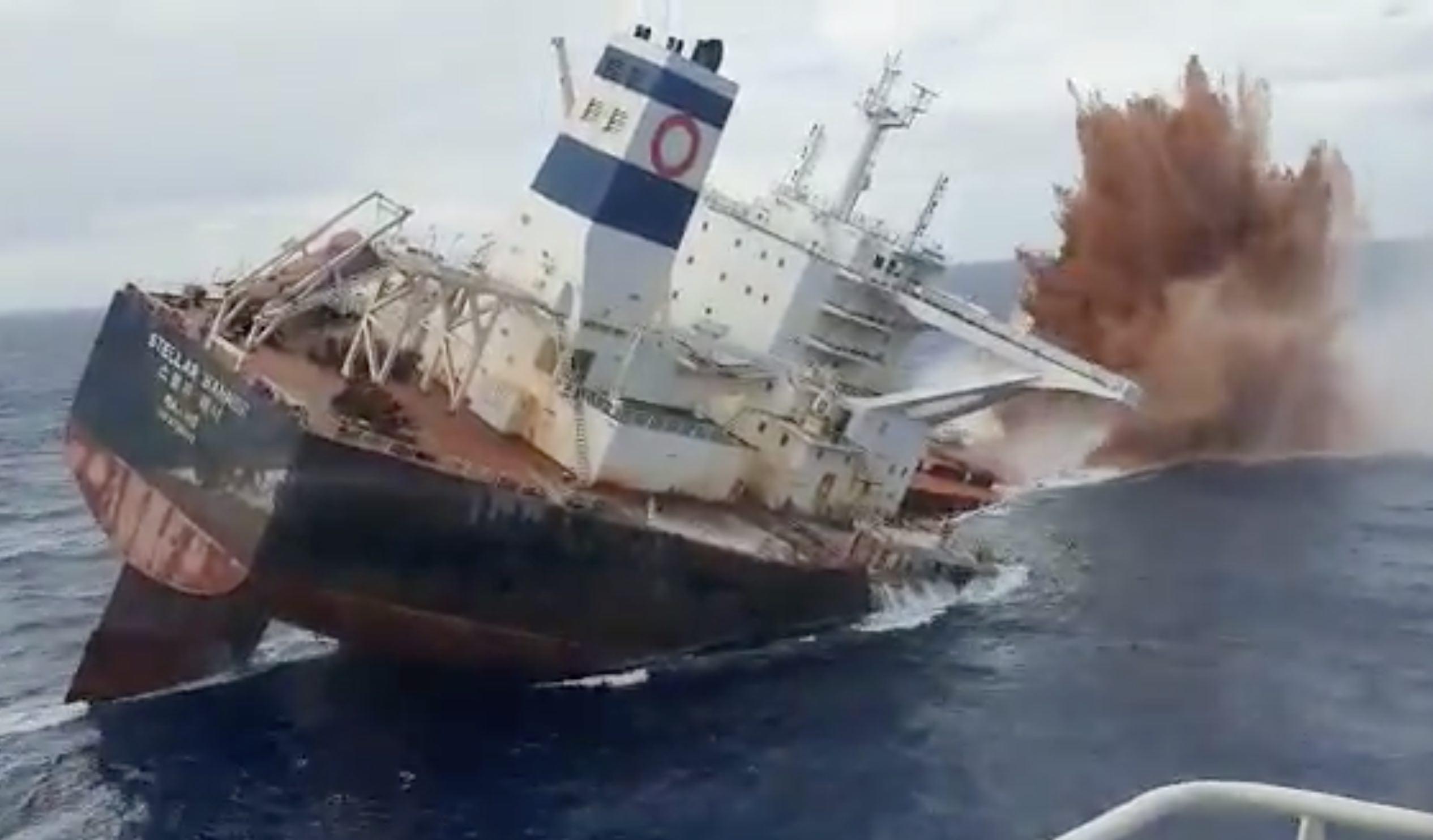 Industria naval - acidentes - navio