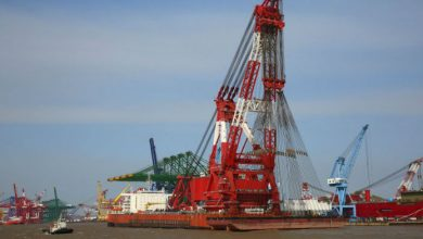 Photo of China Railway Construction orders crane vessel at ZPMC