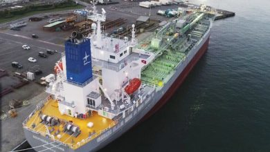 Photo of Sansho Kaiun orders product tanker pair at Usuki Shipyard