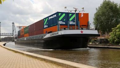 Photo of Wärtsilä promotes emissions-free barge concept for inland shipping