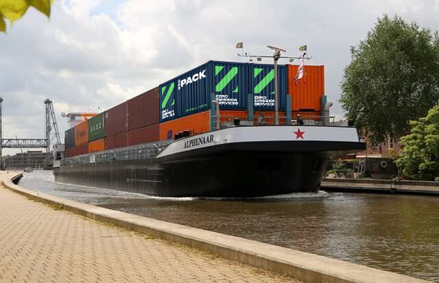 Wärtsilä promotes emissions-free barge concept for inland shipping