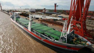 Photo of Shanghai Changjiang Shipping orders MPP vessel at Damen Yichang