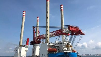 Photo of Windfarm installation vessel suffers water ingress incident off Jiangsu
