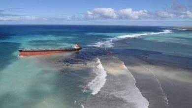 Photo of Stricken bulk carrier off Mauritius tipped to break up in the coming hours