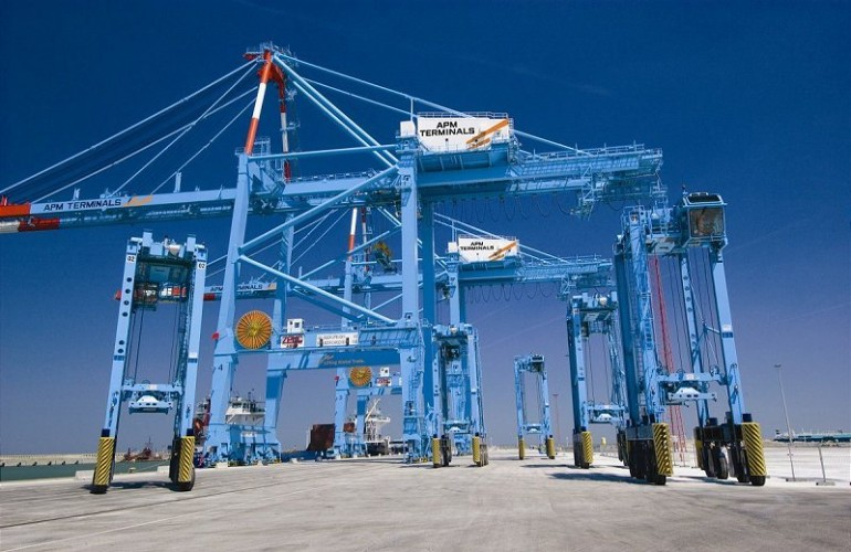 11 APM terminals have received no ships in the past 48 hours