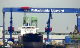 Aker Philadelphia Shipyard completes product tanker financing for Crowley jv