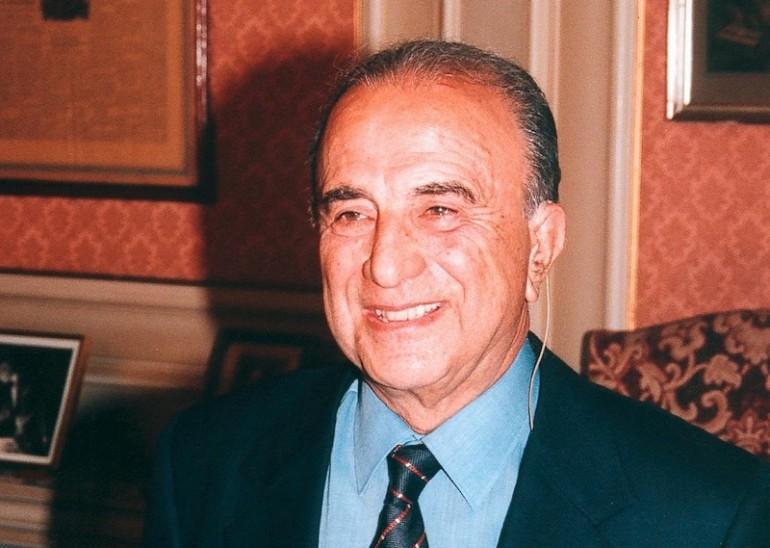 Aristides Alafouzos, the founder of Kyklades Maritime, dies aged 93