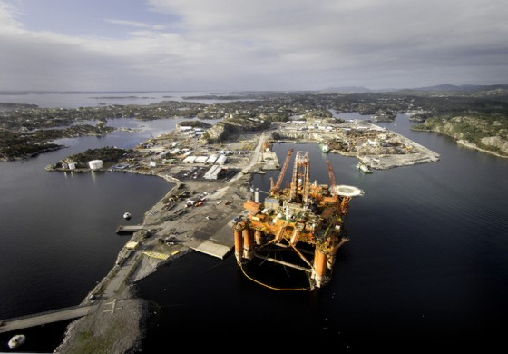 Bergen Group completes sale of rig yard