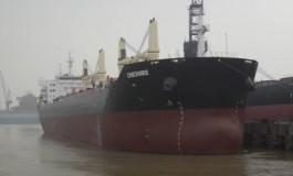 Crew evacuated from fire-ridden Bibby Line bulk carrier