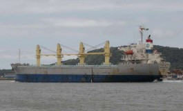 Snowstorm grounds Taiwanese bulker