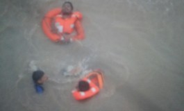 Indian Navy and Coast Guard helicopters rescue 14 crew as ship sinks off Mumbai