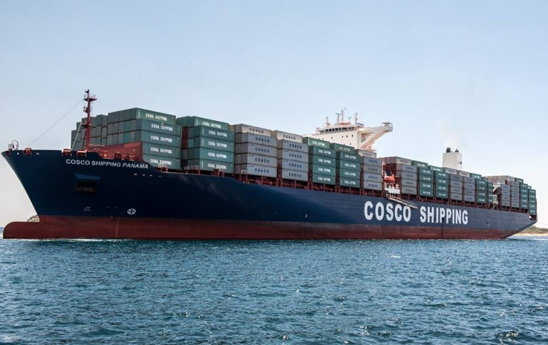 Cosco overhauls Maersk into top spot in container liftings