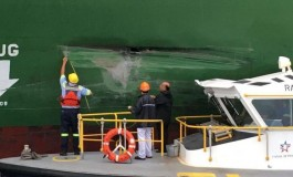 One in 50 ships suffer fender benders while transiting new Panama Canal