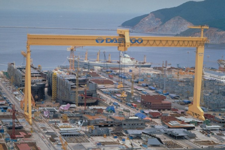 DSME to build yard in Iran