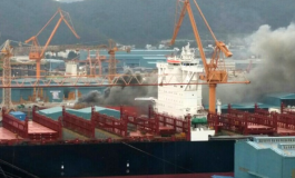 Fire rips through DSME