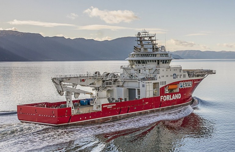 EMAS Chiyoda Subsea defaults on Forland Shipping charter