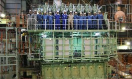 World's first ethane ship engine completed