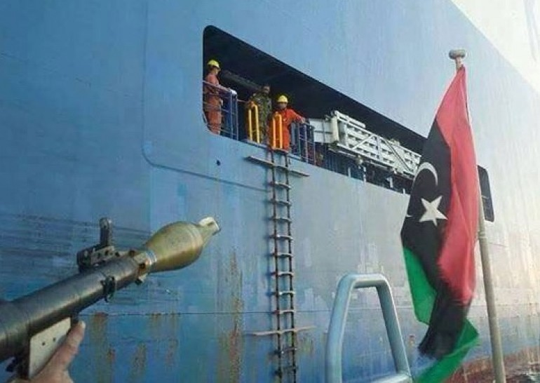 Korean car carrier released by Libyan militants