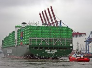 Evergreen charters a dozen 11,000 teu ships from Shoei Kisen