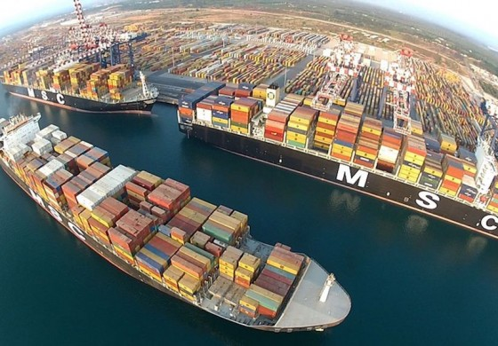 On-demand container shipping