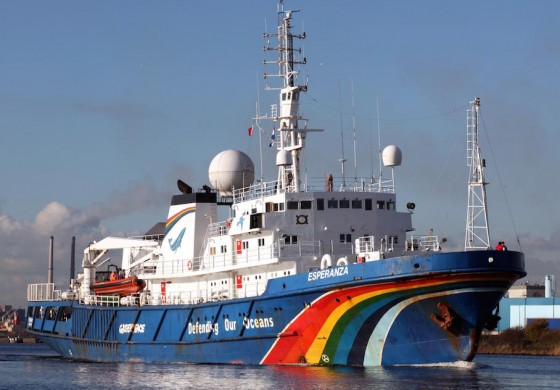 Greenpeace rig-boarders will ignore any injunction ordering their removal