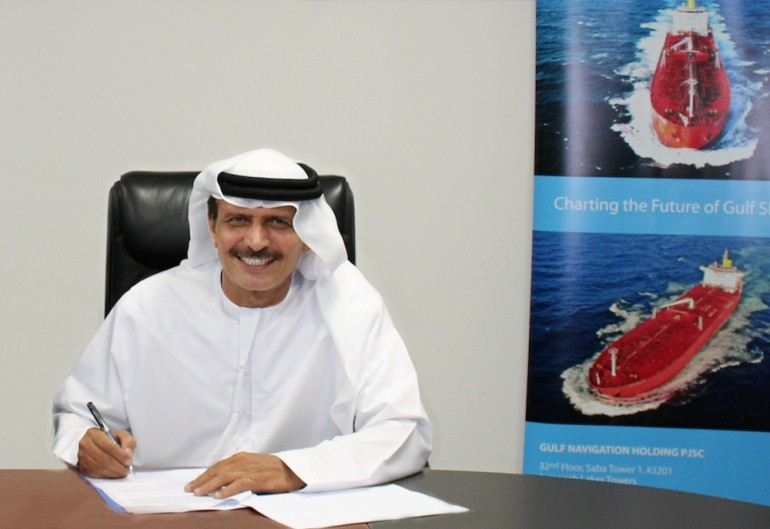 Gulf Navigation: Khamis Juma Buamim stars on the cover of latest Maritime CEO