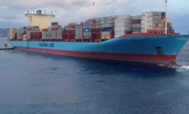 Maersk containership runs aground in Southern Italy