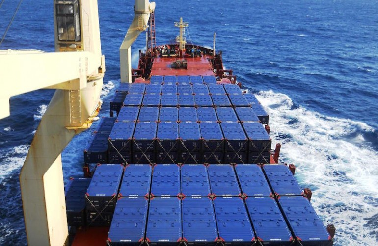 New cross-strait shipping route launched