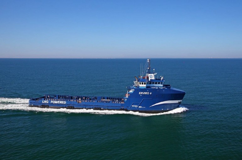Harvey Gulf secures four contracts for stacked vessels