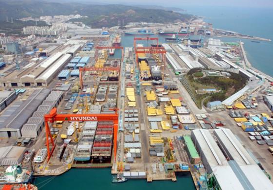 Hyundai Heavy staff in three-day strike