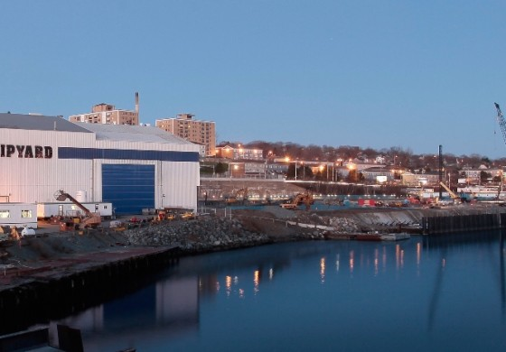 Irving Shipbuilding hammers out tax reduction with local authorities