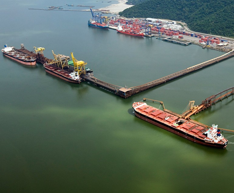 Iron ore-loading suspended at Brazil's Itaguai terminal after accident