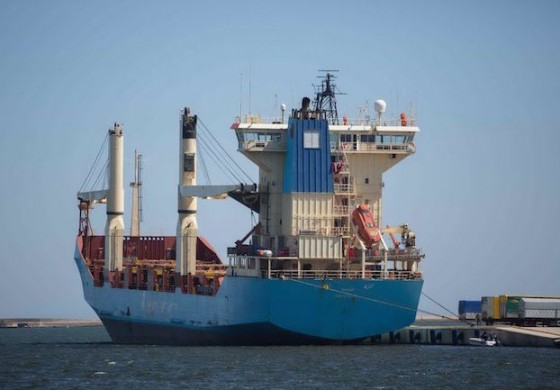Kenza boxship free to leave Cagliari after two years' detention
