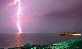 Study maps correlation between busy shipping lanes and more intense thunderstorms