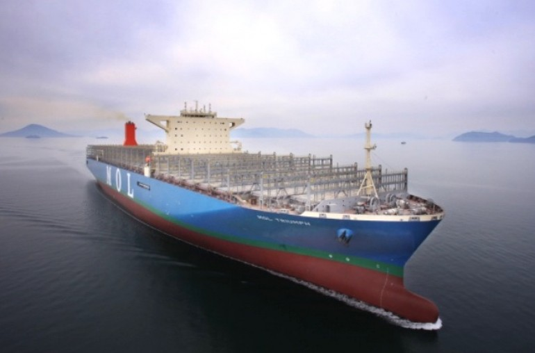 World gets a glimpse of the largest boxship ever built