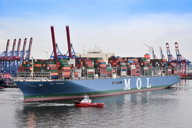 What it takes to handle a 20,000 teu boxship
