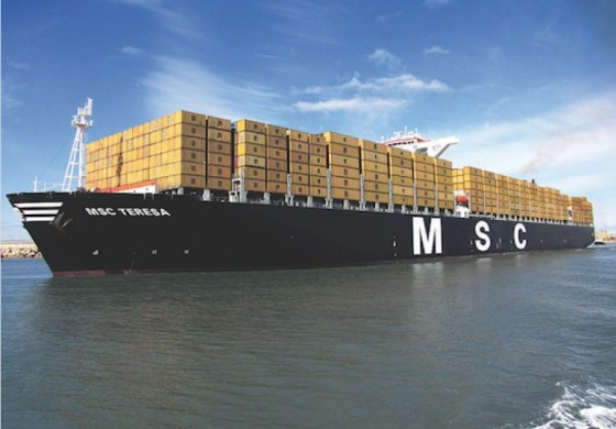 MSC's giant newbuilds break into the 23,000 teu territory