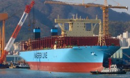 Containership orderbook ratio hits lowest ever level