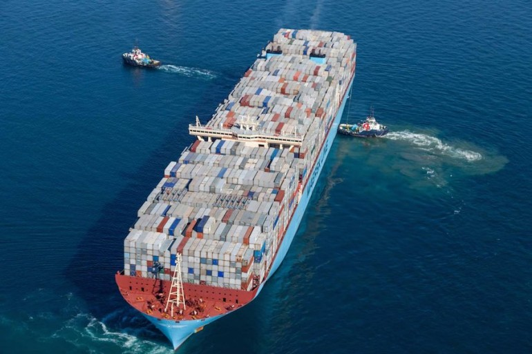 Maersk expects to get back to normal operations by early next week