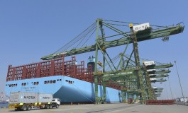 Maersk Line's strategy is to grow 'in line' with main competitors