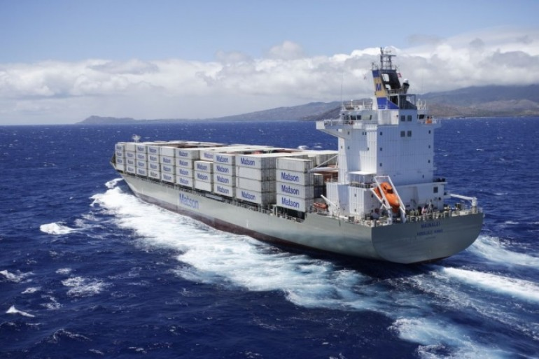 Matson agrees to stop beaching ships