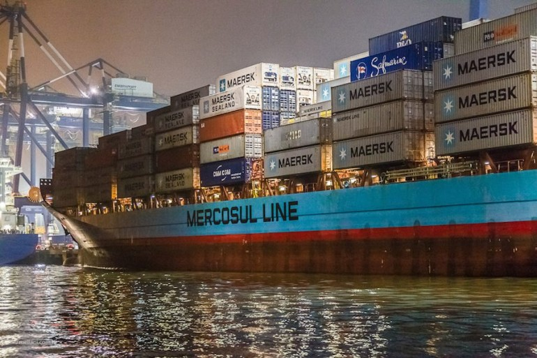Misfortune strikes two Maersk ships in Brazil
