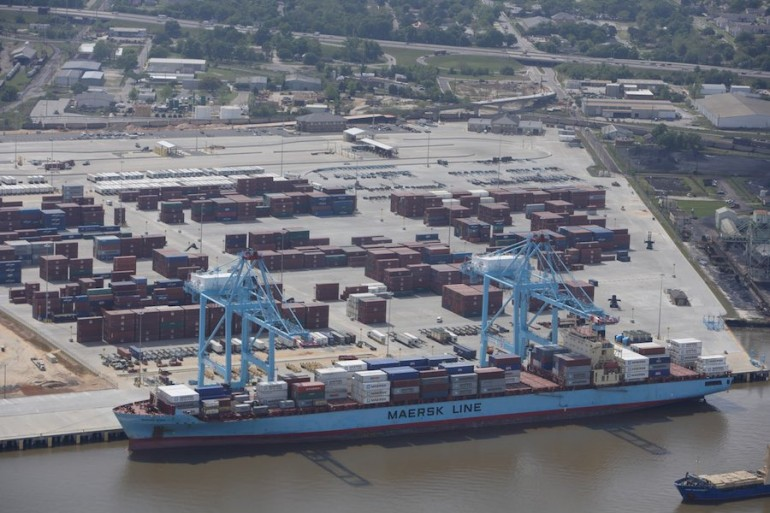 Mobile container terminal expansion moves a step closer