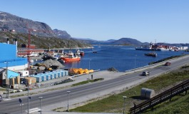 Container terminal for Greenland