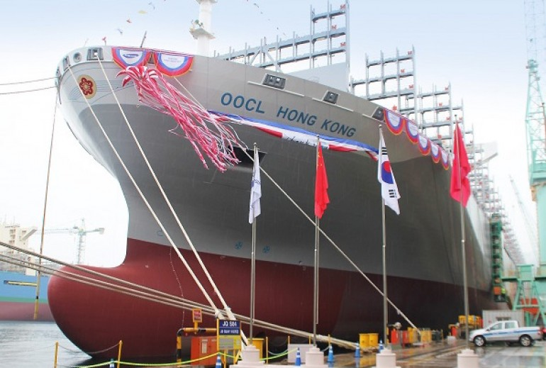 OOCL takes the biggest boxship mantle