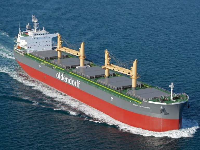 Oldendorff Carriers picks up ultramax from Mitsubishi